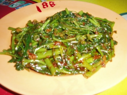 188 Zhai Lai Xing kangkong dish