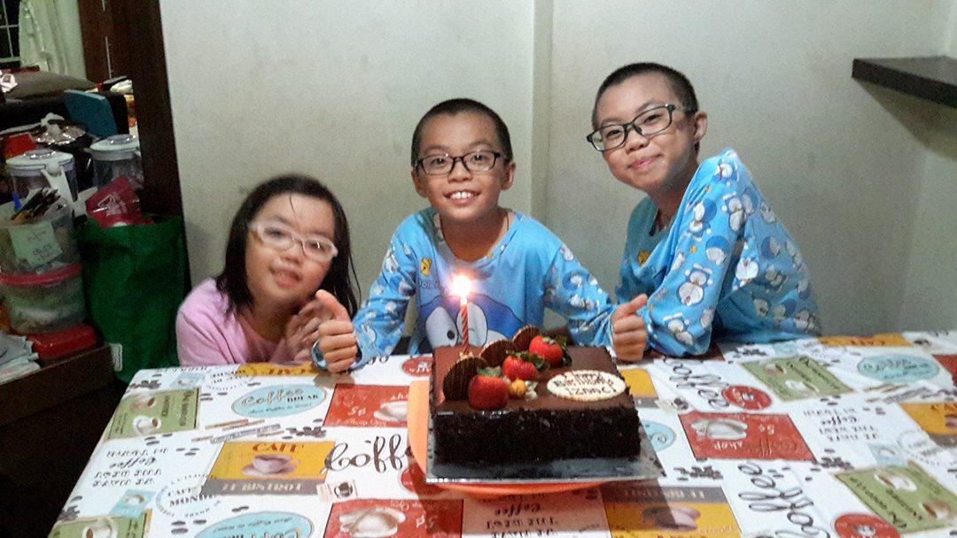 Izaac's Birthday 2013 to 2015